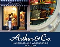 Creative Direction + Design: Arthur & Co. Handbags, NYC