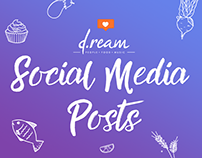 D.ream Group Restaurants Social Media Concepts