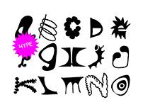 HYPE Typface