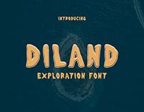 Diland - Exploration Font