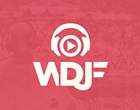 2014 World DJ Festival Identity & art directing