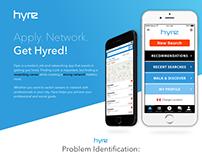 Hyre: A Job & Networking App