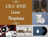 Best And Free Vinyl & CD & DVD Cover Templates