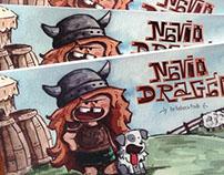 Livro Navio Dragão