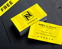 Free Business Card Mockup Vol-02