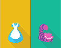 Alice in Wonderland Icons