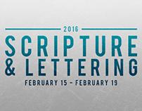 Scripture & Lettering - Week 1