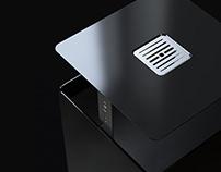 Box Model litter bin for Ecobin
