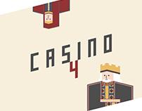 Casino 4 - Lettering & Illustration