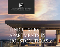 Luxury Apartments Landing page