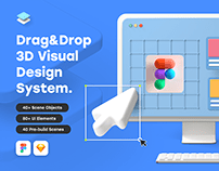 Bento 3D Visual Design System