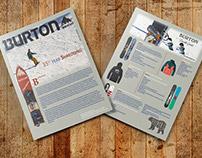 Burton Magazine insert