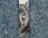 Game Of Thrones snowboard deck