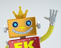 Mascote Eletro King
