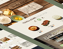 2014 Touslesjours  Website Redesign Concept