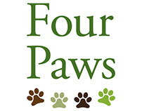 Four Paws brand refresh and website