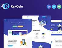 Cryptocurrency & Coin ICO WordPress Theme