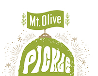 Mt. Olive Pickle Drop 2014 T-Shirt