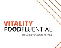 Vitality Food Series Branding