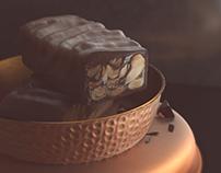 COUPLE OF CHOCOLATE BARS