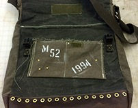 Military Inspired Tote