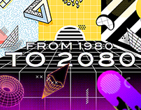 From 1980 to 2080 | TikTok Event Branding