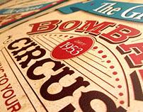 Bombay Circus Poster // Nostalgia
