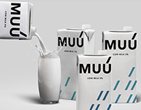 Milk: brand and packaging
