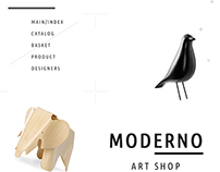MODERNO / e-commerce