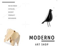 MODERNO / e-commerce