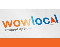 Wow Local Logo