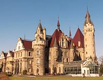 Pałac w Mosznej - Moszna Castle - Schloss Moschen