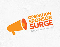 Operation Sponsor Surge | BVOR Refugee Program Logo