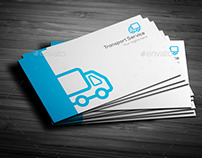 Transport Service Business Card