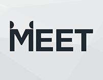 MEET - Minimal Logo