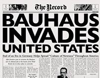 Bauhaus Newspaper