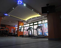 Interior Design & Finishing Work for Ladies Gym