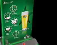 Heineken - Illuminated Tent Card