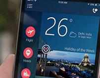 Travel Mobile App - UI/UX Design Concept