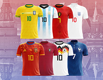 World Cup Russia 2018 Concept Kits