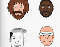 Rugby World Cup Characters