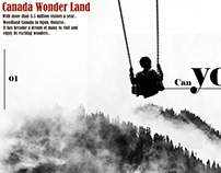 My design For Canada Wonder Land