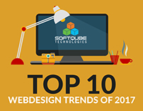Top 10 Webdesign Trends of 2017