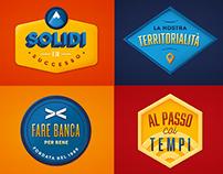 UBI Banca - Employer Branding - Graphic contents