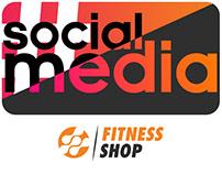 Social Media - Fitness Shop
