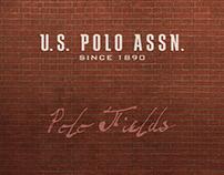 Us Polo Assn, shop window design. / Polo Fields