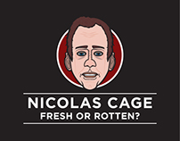 Nicolas Cage: An Infographic