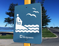 Sea Access Pictogram