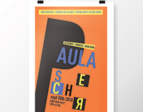 Paula Scher Inspired Poster