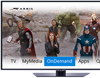 Unity 2.0 Set top box UI Visual Comps